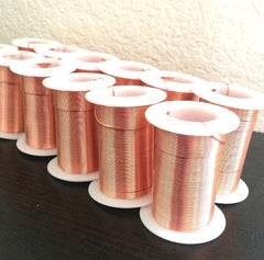 20 Gauge Copper Wire 45 Feet / 15 Yards Tarnish Resistant Jewelry Bangle Make Wire Wrapped Pendants Necklace Bracelet