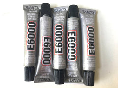 E6000 Glue for Druzy Making Earring Craft Supplies, Permanent Adhesive for Druzys, Earring Backs, Earring Posts, Druzy Jewelry, Craft Glue