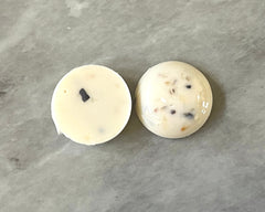 Terrazzo + Cream Resin Acrylic Blanks Cabs, 20mm round circle blanks, earring jewelry making, stud earring blanks, cabochon earrings