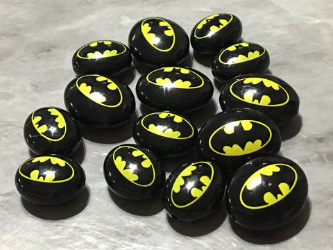 SALE! Bead lot. Black & Yellow Batman Beads