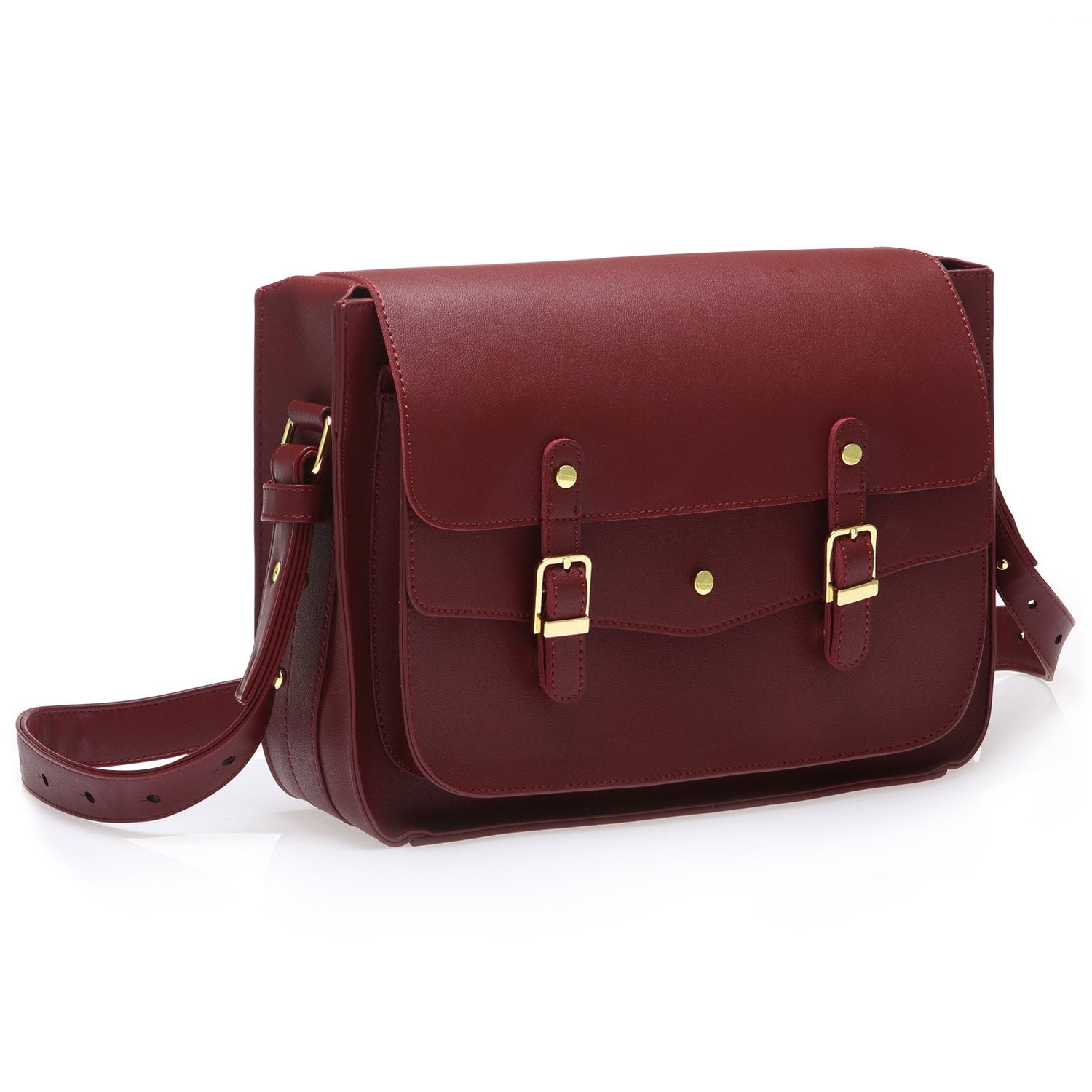 ESATCH L - WINE RED