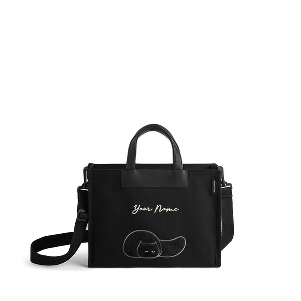 Furry Bag 73 (VV) - Black
