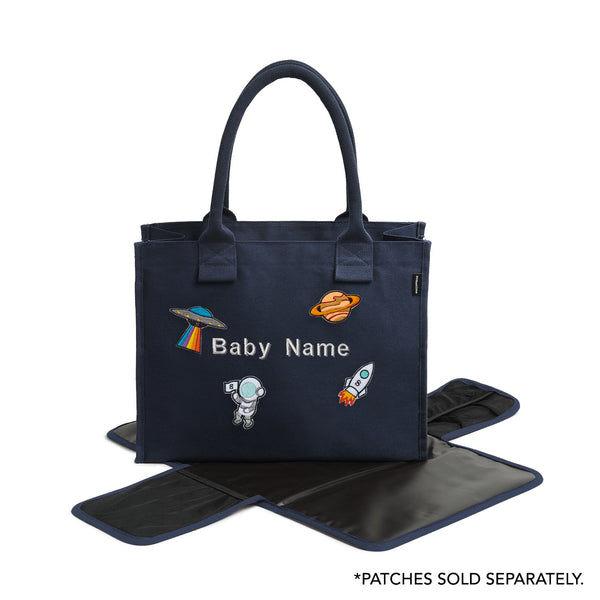 Super Estela Diaper - Navy