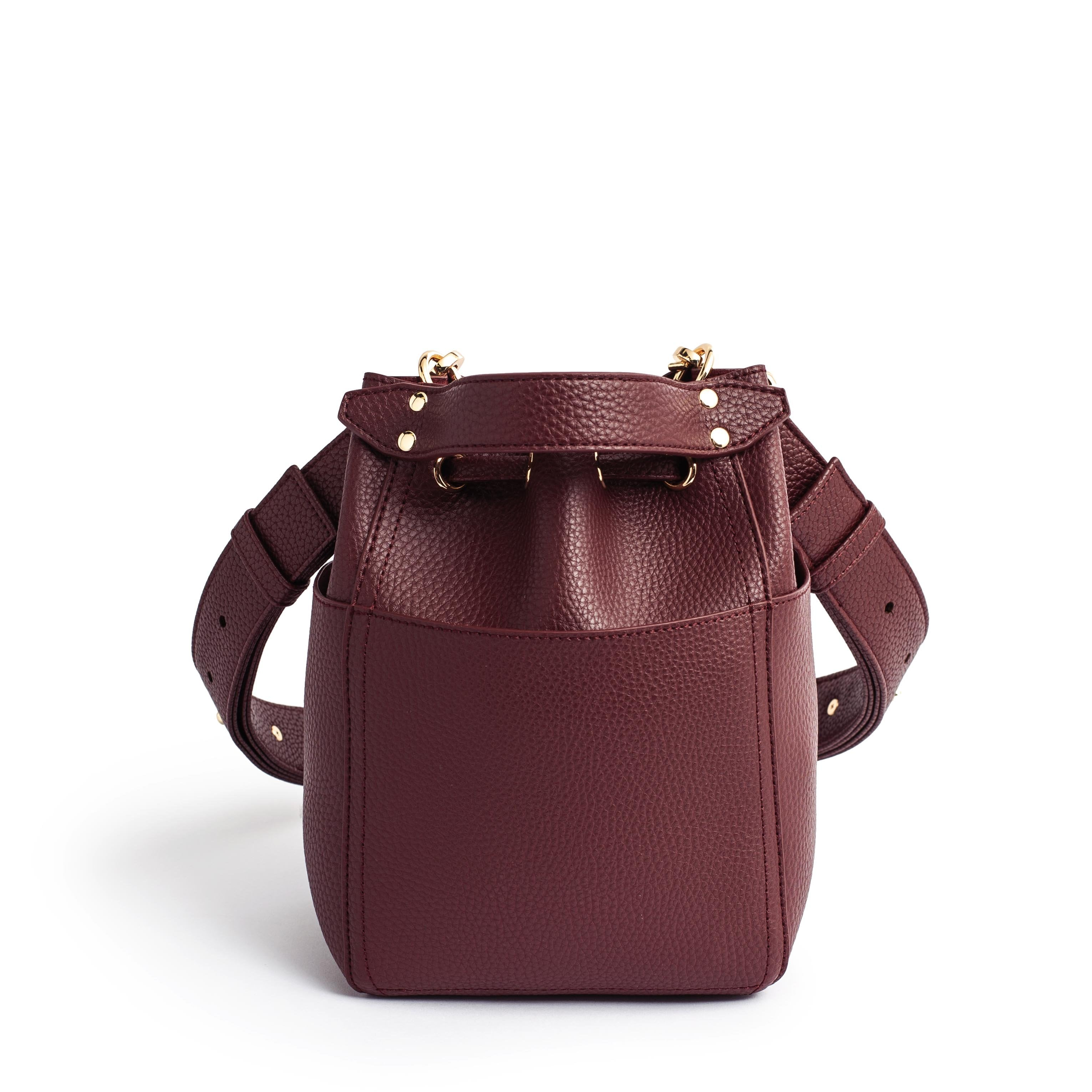 RIBUCKET MINI - MAROON