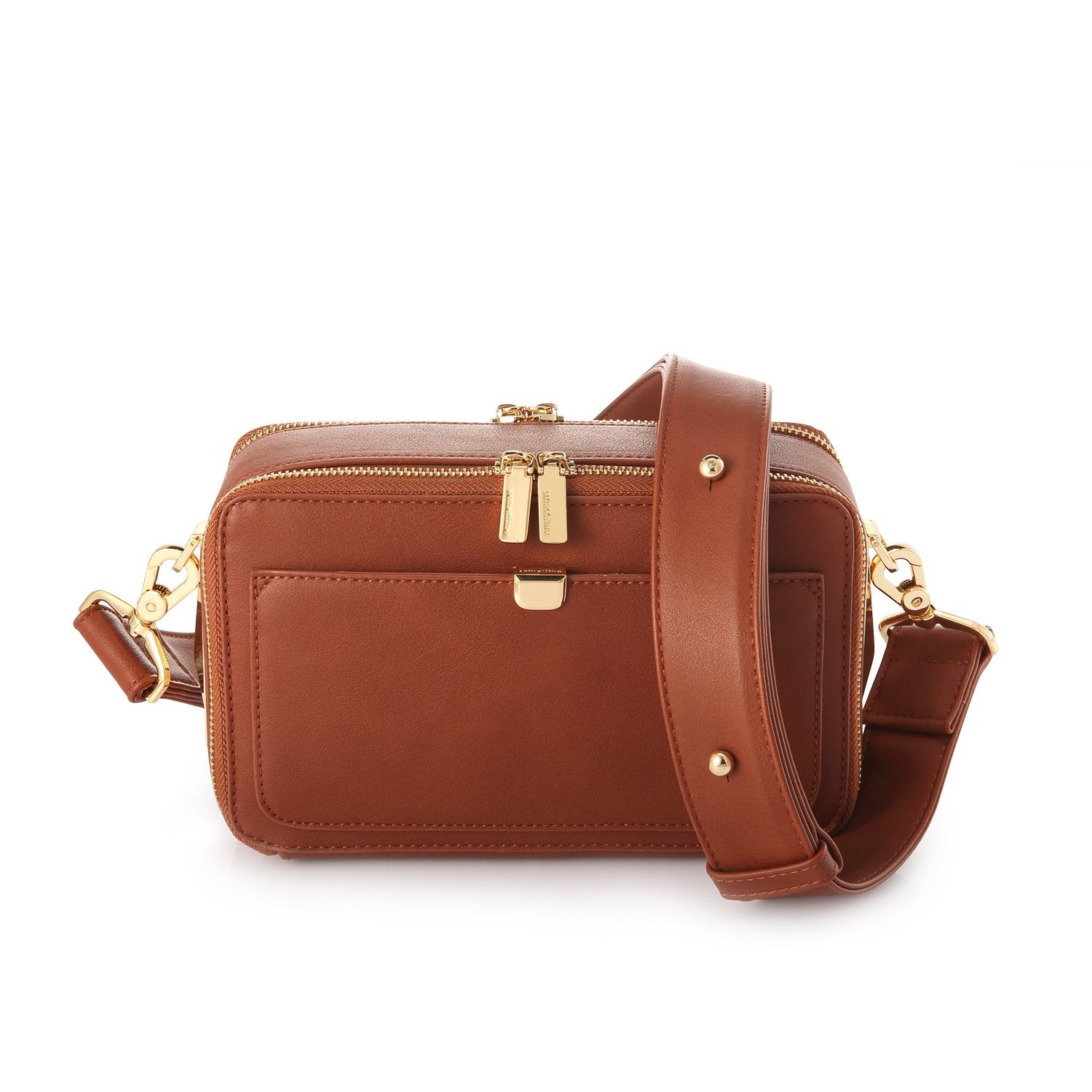 LOFARBAG MINI - DARK BROWN