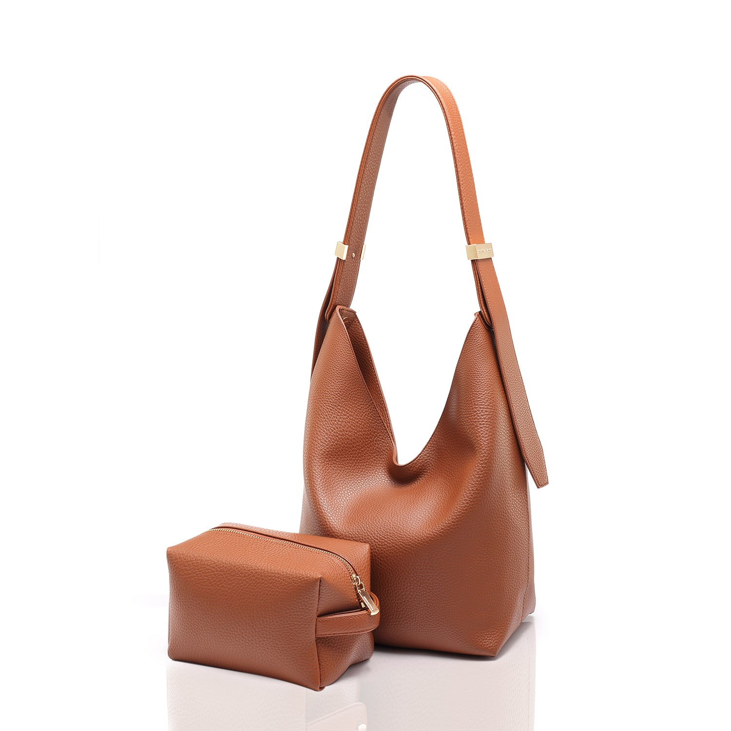 RIBAG HOBO MINI - BROWN