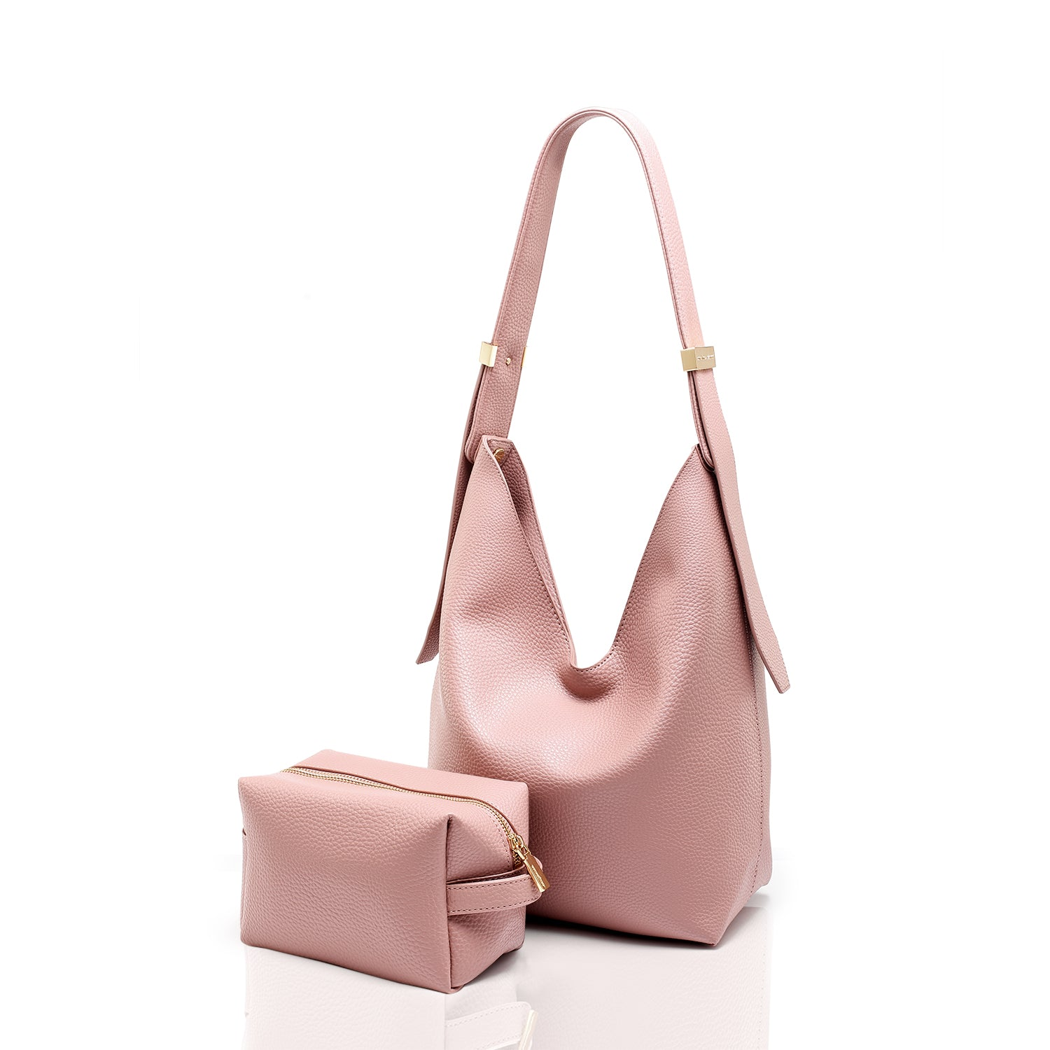 Ribag Hobo Mini - Nude Pink