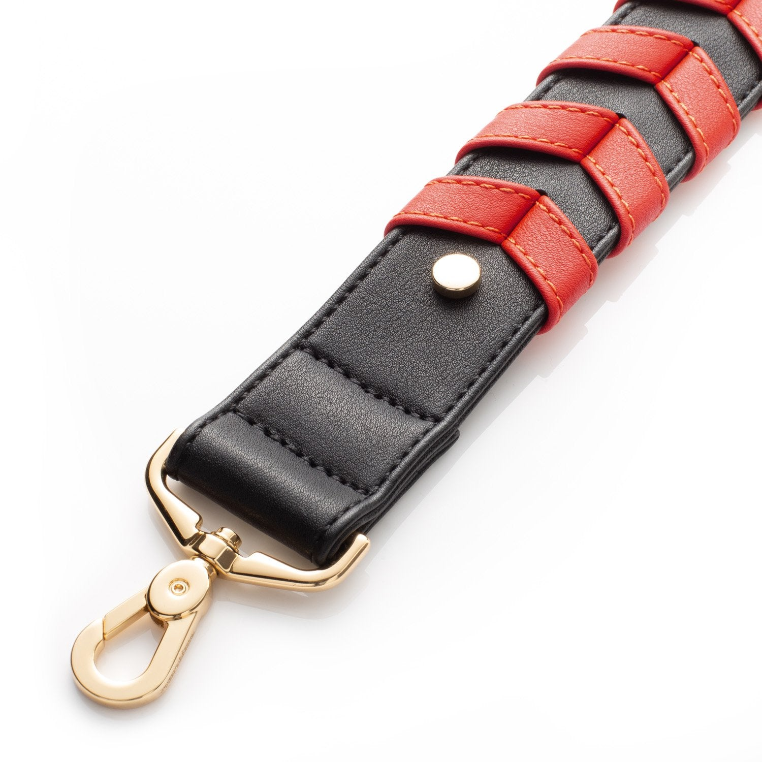 BRAIDED STRAP - RED