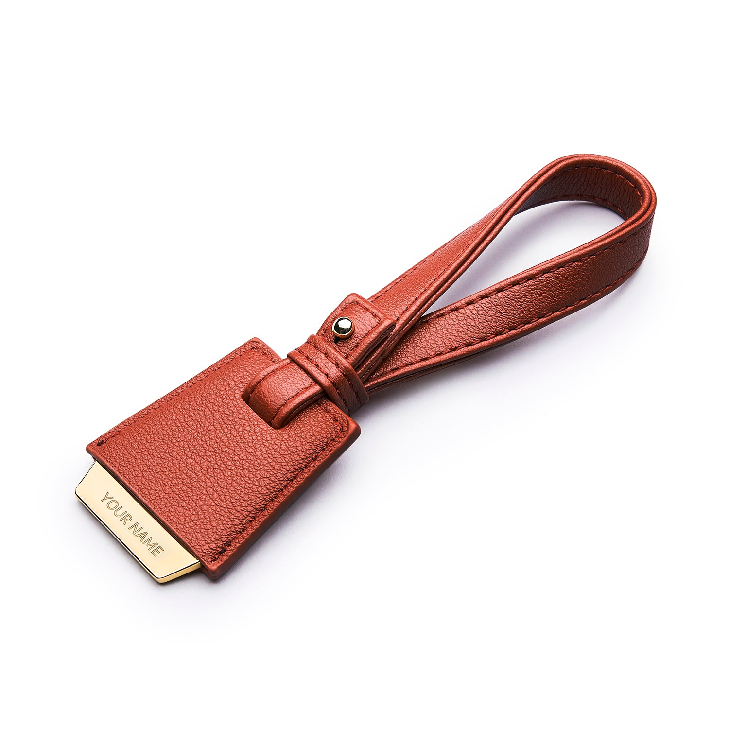 Coley Bag Tag - Red