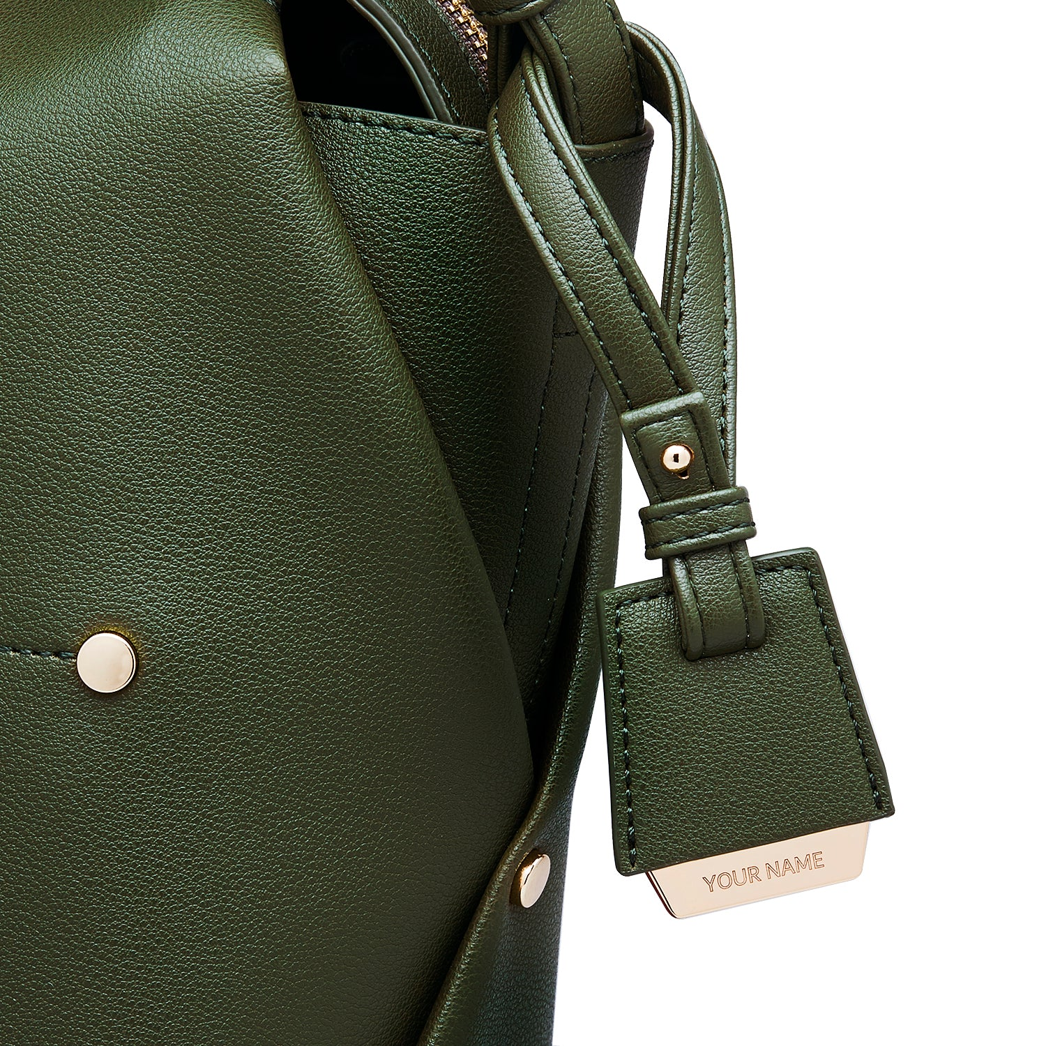 COLEY BAG TAG - EMERALD