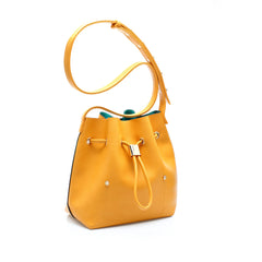 sometime niko niko mini bag amber perspective