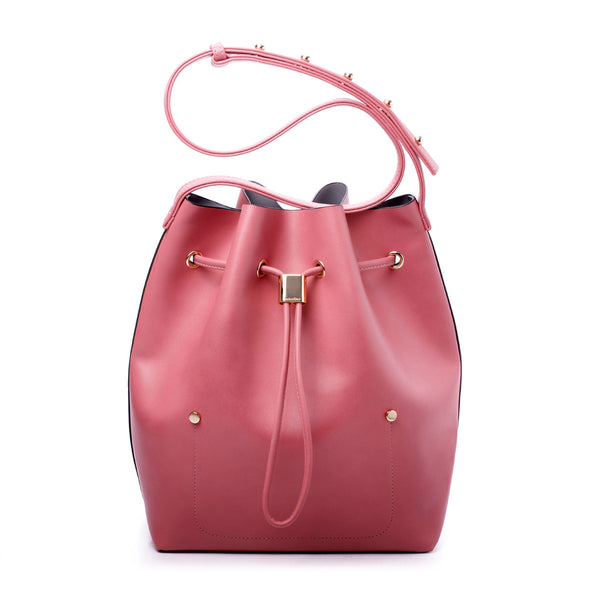 sometime niko niko bag dusty rose front