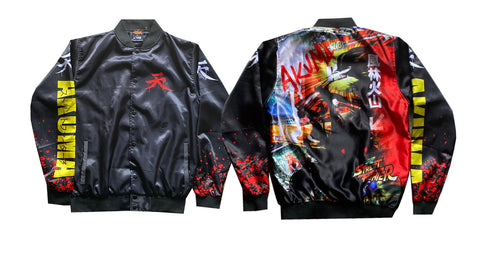 "CAPCOM STREET FIGHTER ""STREET ART"" AKUMA JACKET"
