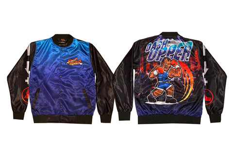 CAPCOM STREET FIGHTER BALROG JACKET