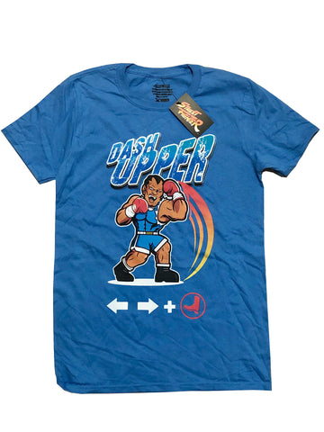 CAPCOM STREET FIGHTER BALROG MOVE SET TEE