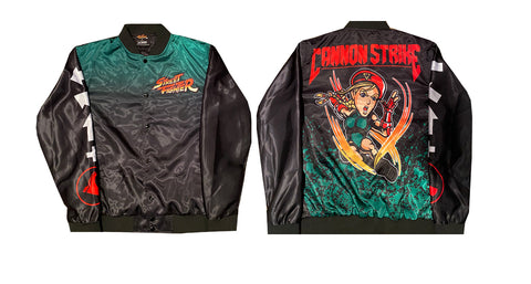 CAPCOM STREET FIGHTER CAMMY JACKET