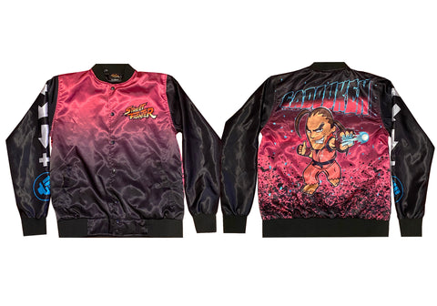 CAPCOM STREET FIGHTER DAN JACKET