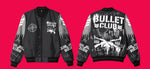 "NJPW BULLET CLUB ""GRAFFITI"" JACKET (BLACK/GREY)"