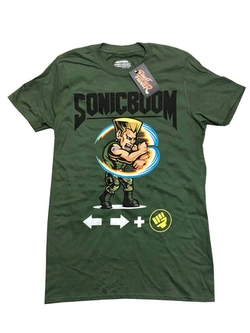 CAPCOM STREET FIGHTER GUILE MOVE SET TEE