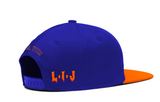 NJPW LIJ NYC BLUE/ORANGE SNAPBACK (PRE ORDER)