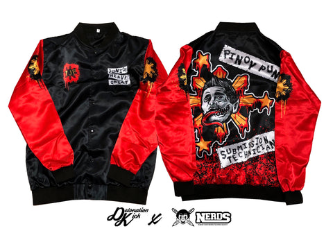 "NERDS x TJP ""PINOY PUNK"" Jacket"