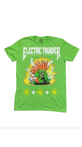 CAPCOM STREET FIGHTER BLANKA MOVE SET TEE