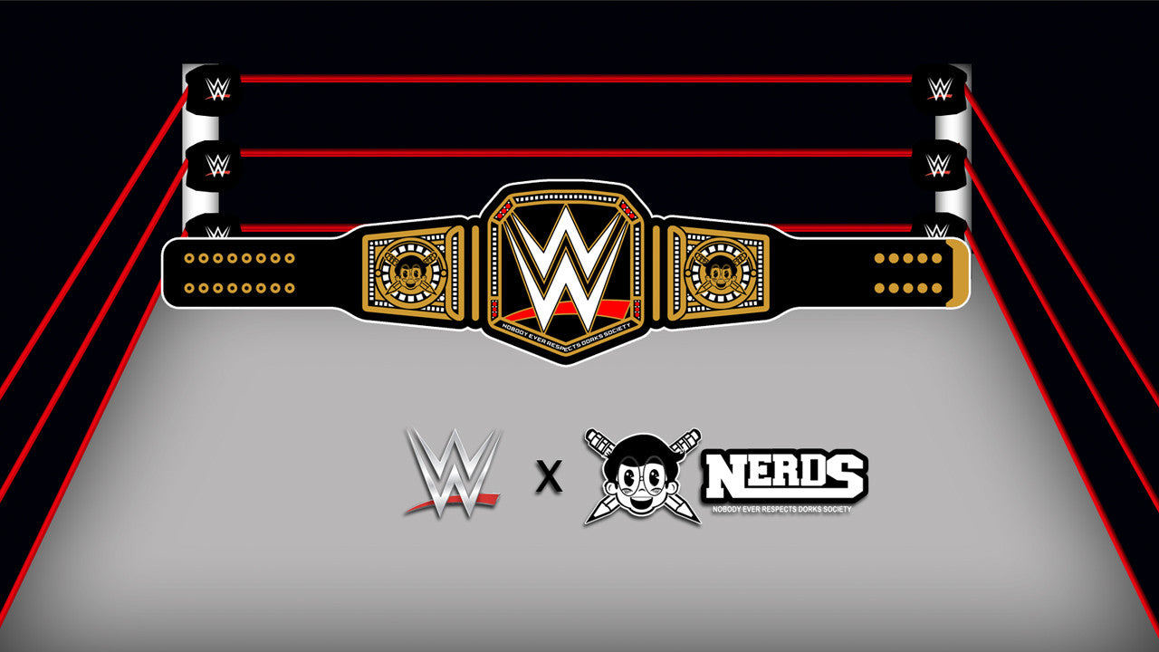 WWE X Nerds Collection