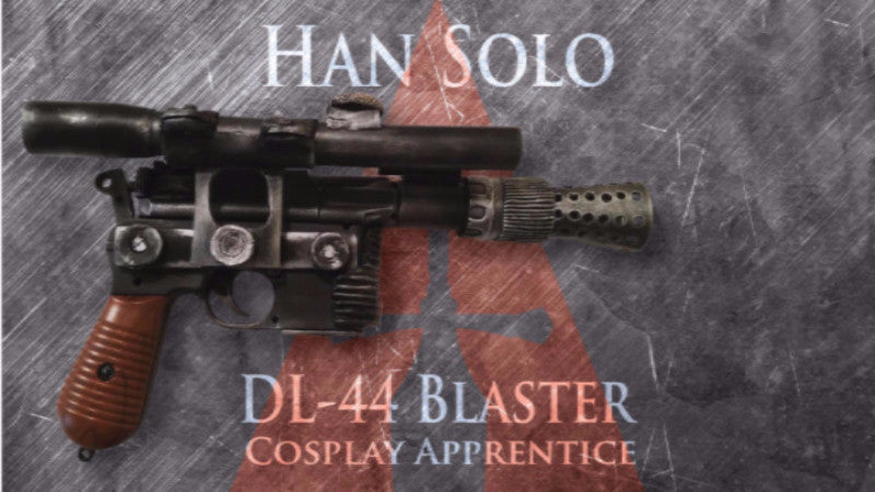 Han Solo DL-44 Blaster Template