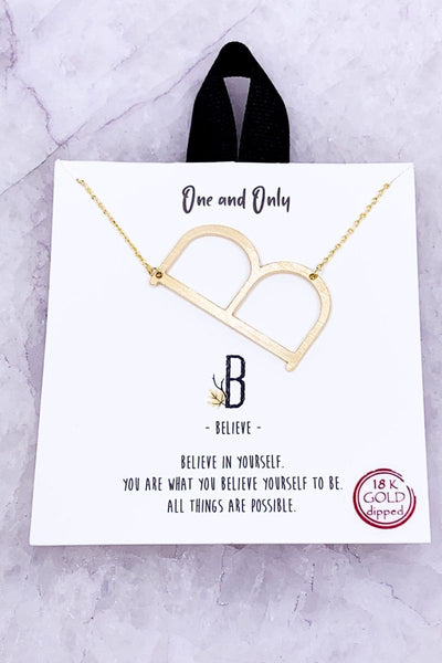 Say My Name Letter Necklace Pre-Order