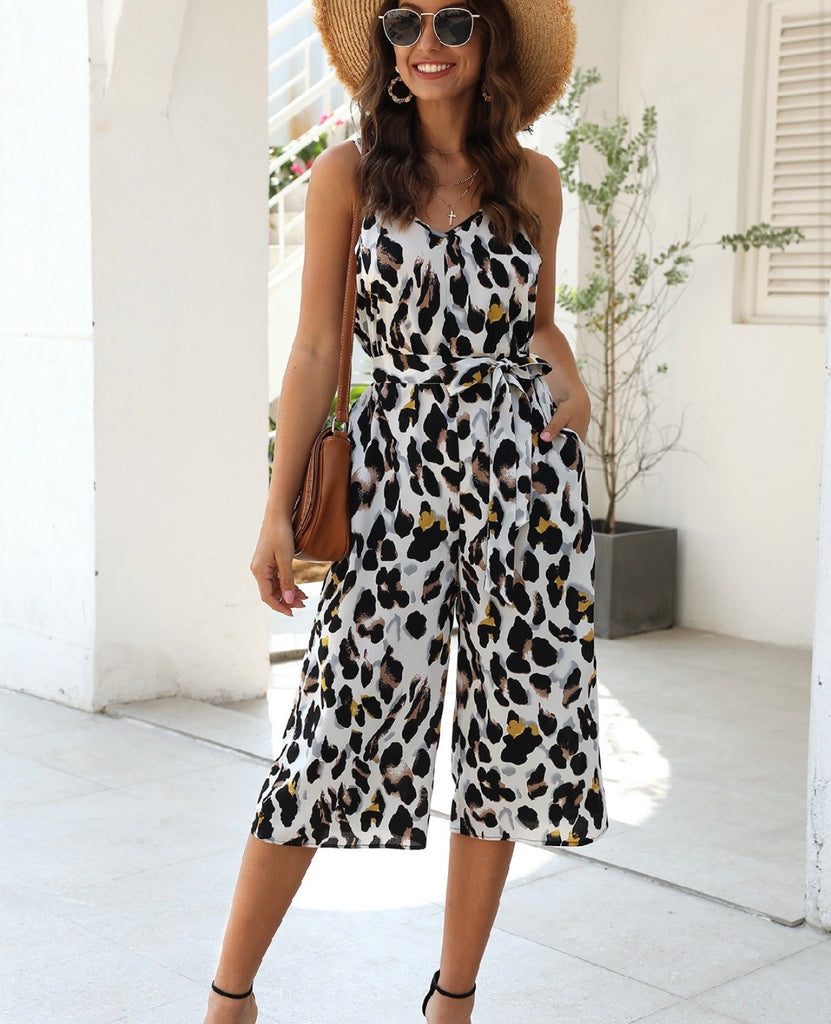 Different Is Beautiful Leopard Jumpsuit