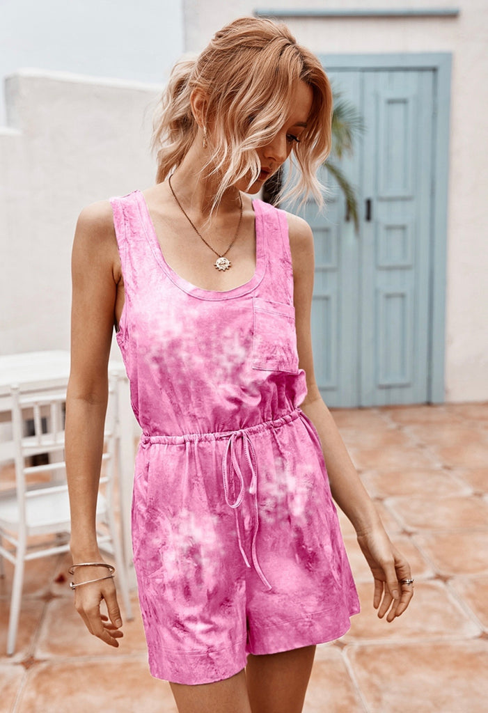 Be The Energy You Want To Attract Dye Romper