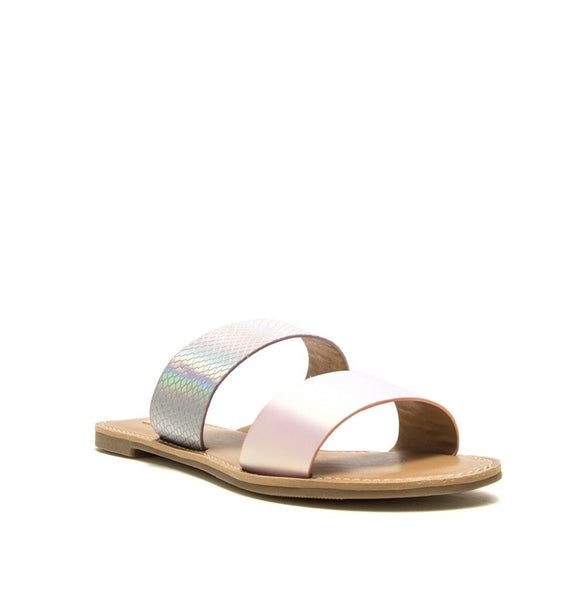 Sprinkle Glitter Everywhere You Go Sandals