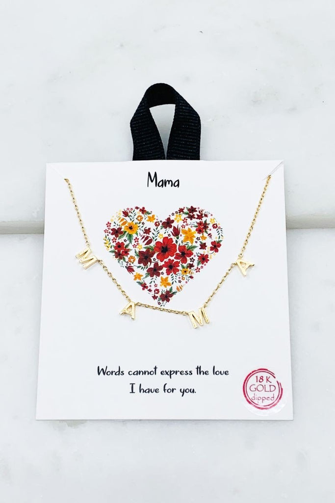 You Are Appreciated Mama Necklace