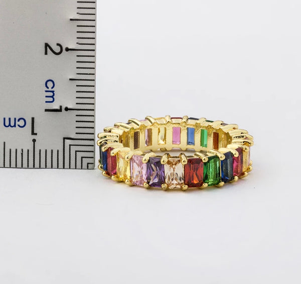 Always Be A Rainbow Ring