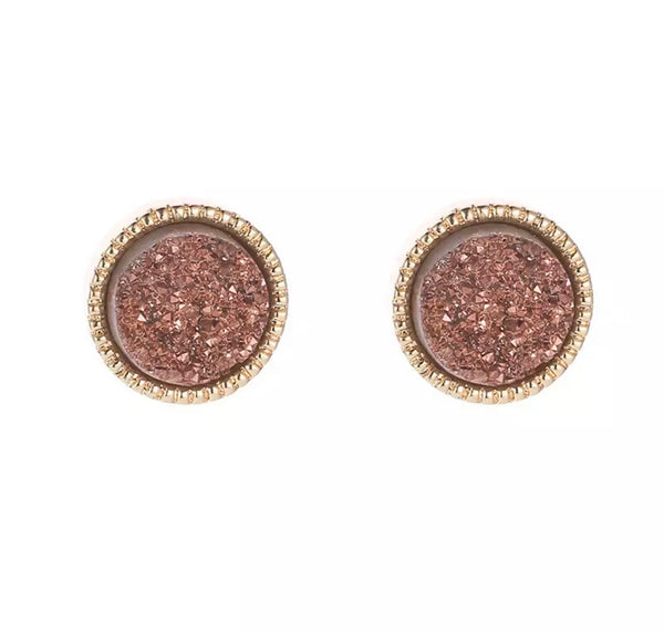 You Are Your Only Limit Druzy Earrings