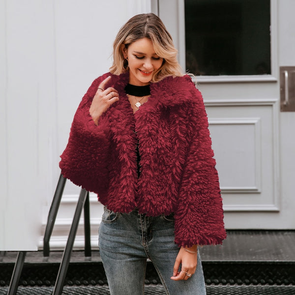 Merry And Bright Faux Fur Coat