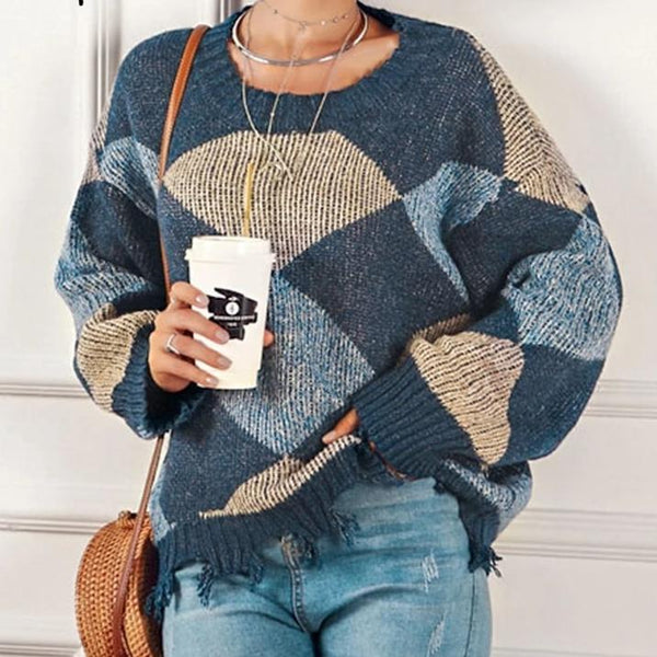 Make Today Magical Distressed Pullover Sweater