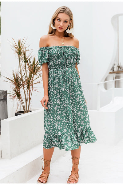 Sweeter Than Honey Boho Dress