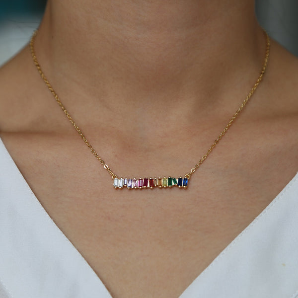 A Little Taste Of The Rainbow Necklace