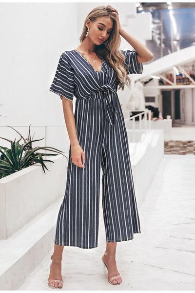 I Have A Serious Love Affair With Stripes Jumpsuit