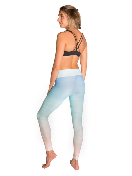 Color Through Motion Leggings Back