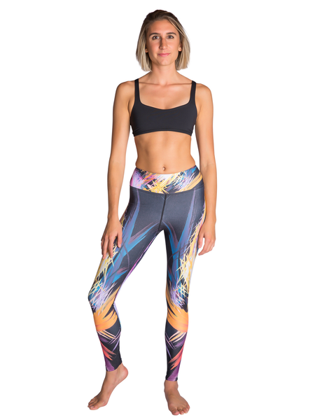 Fractured Realities Leggings Front