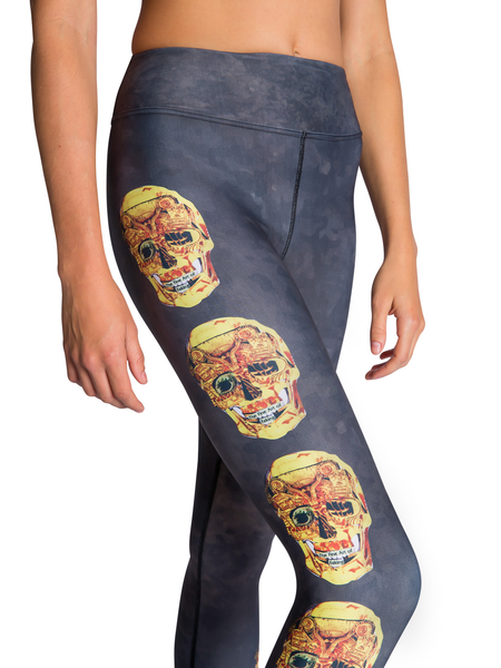 Skull Leggings Side