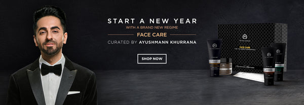 Flat 20% off on All Site wide Website The Man Company AYUSHMANN'S FACE CARE BOX