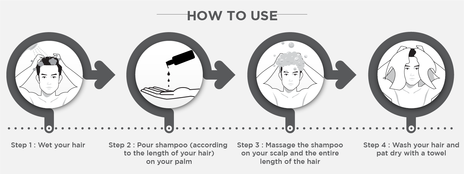 How to use anti dandruff shampoo