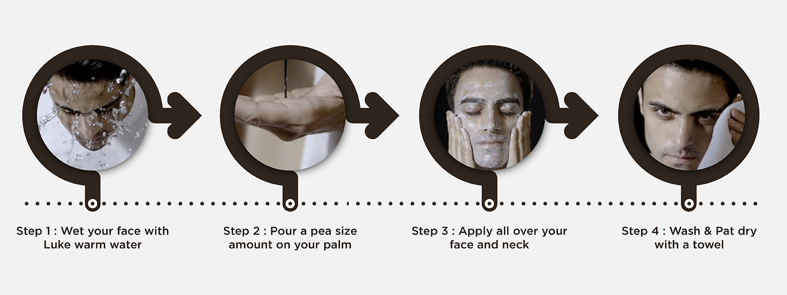 How to use charcoal face wash
