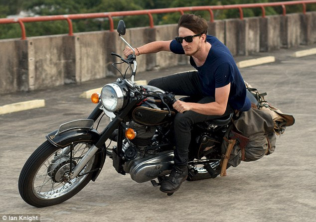 What happens when you drive a Royal Enfield?