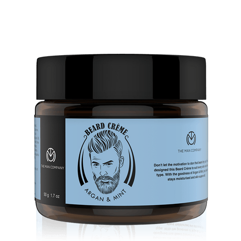 Buy Argan and Mint Beard Creme Only Rs.349