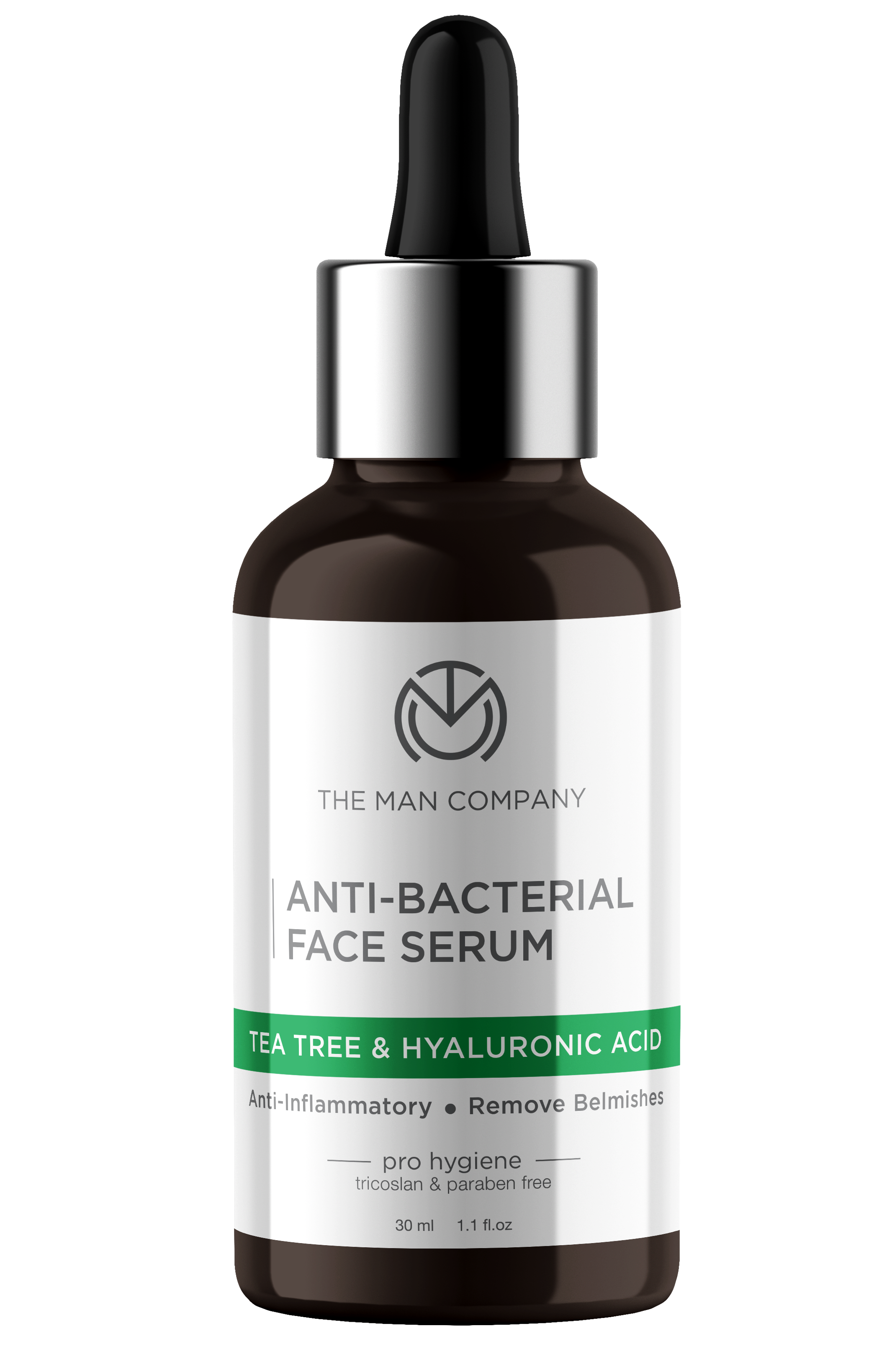 Anti-Bacterial Face Serum | Tea Tree & Hyaluronic Acid - 30 ml