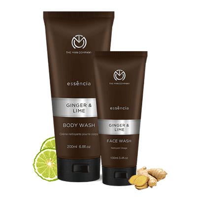 Ginger and Lime set - The Man Company